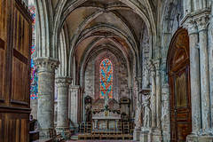 glise Notre-Dame de la Nativit  Moret-sur-Loing - HDR (gilles_t75) Tags: d5300 france gillest hdr nikkor1855mmf3556 nikon bracketing exposurefusion highdynamicrange photohdr photomatix tonemapping moretsurloing seineetmarne77 ledefrance glise notredamedelanativit sacristie vitrail