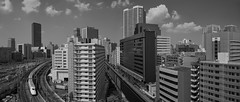 Tokyo 3980 (tokyoform) Tags: city chris cidade urban panorama public japan skyline speed canon buildings japanese tokyo high asia cityscape skyscrapers transport rail railway ciudad trains jr paisagem east un transit tquio stadt  urbana metropolis  urbano japo mass  paysage rapid  shinkansen japon hsr giappone ville paesaggio citt tokio urbain 6d stadtbild jepang japn   jr  jongkind   rooftopping  chrisjongkind tokyoform