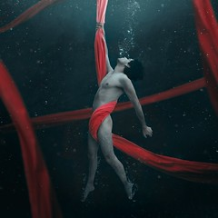 Under A Red Dream (jorgebarredaphotography) Tags: art abstract fashion fashionphotography fantasy magic landscape nature water underwater sea red fineart fineartphotography freedom love style surrealism surrealistic selfportrait nude naked boy body bubles conceptual color