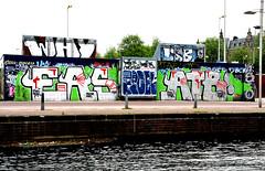 graffiti amsterdam (wojofoto) Tags: holland amsterdam graffiti nederland netherland why ea atb 2016 wolfgangjosten wojofoto
