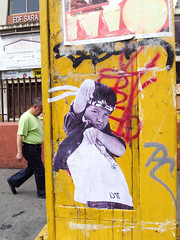 Heroes (D11 Urbano) Tags: boy art girl poster stencil arte venezuela nios caracas urbano venezolano arteurbano d11 streetartvenezuela artvenezuela d11streetart arteurbanovenezuela d11art d11urbano