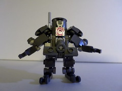 Krate Kannister II (Red_Robot_XIII) Tags: game mobile robot lego frame zero mecha mech krate microscale mfz mf0