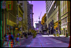 Summer in the city of Toronto 3-D ::: HDR/Raw Anaglyph Stereoscopy (Stereotron) Tags: urban toronto architecture radio canon eos stereoscopic stereophoto stereophotography 3d downtown raw control citylife streetphotography kitlens twin anaglyph financialdistrict stereo stereoview to remote spatial 1855mm hdr redgreen tdot 3dglasses hdri transmitter stereoscopy synch anaglyphic optimized in threedimensional hogtown stereo3d thequeencity cr2 stereophotograph anabuilder thebigsmoke synchron redcyan 3rddimension 3dimage tonemapping 3dphoto 550d torontonian stereophotomaker 3dstereo 3dpicture anaglyph3d yongnuo stereotron
