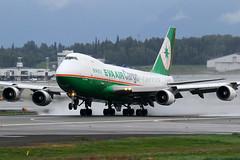 EVA Air Cargo Boeing 747-45EF B-16481 (Mark Harris photography) Tags: plane canon aircraft aviation ak anchorage anc spotting evacargo
