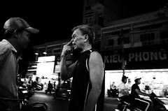 KLVN016487_S (Konrad Lembcke) Tags: life street city people urban white black monochrome face real photography 1 asia district candid center daily vietnam chi metropolis ho weiss minh saigon schwarz