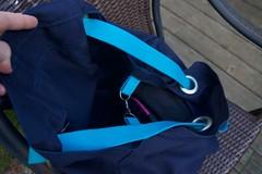 blue Ikea bag swivel clip (foxthreads) Tags: beach bag sewing gym tote