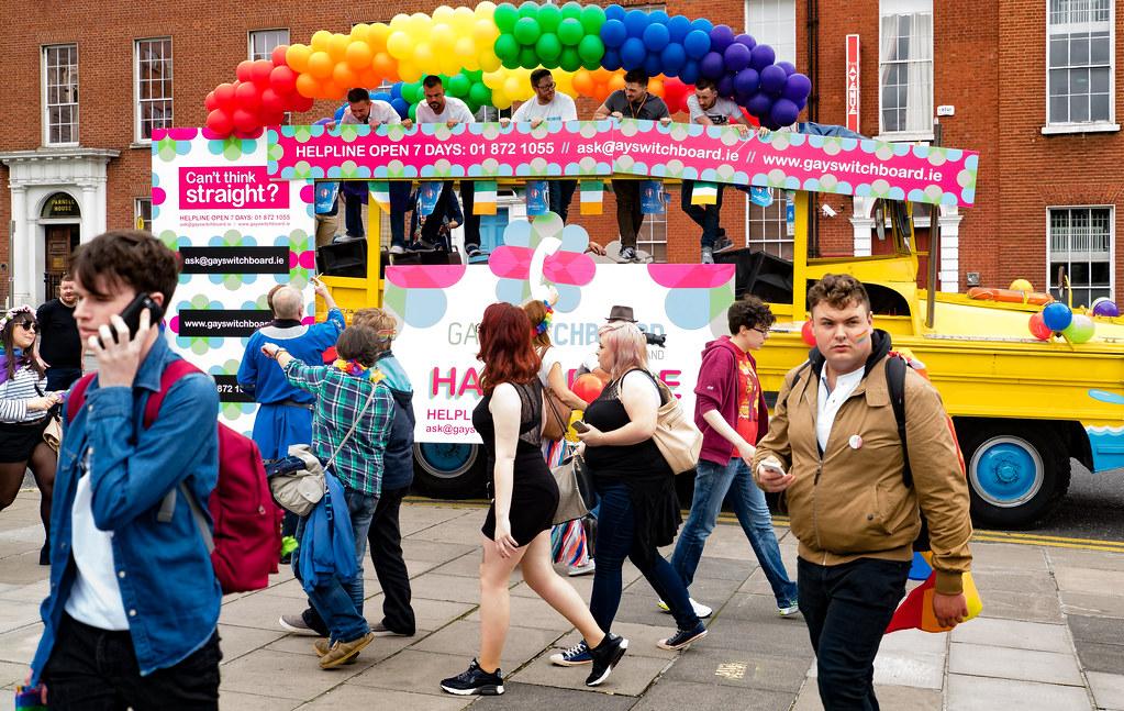 PRIDE PARADE AND FESTIVAL [DUBLIN 2016]-117993