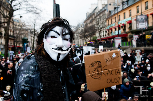 Manifestation anti-ACTA - Paris