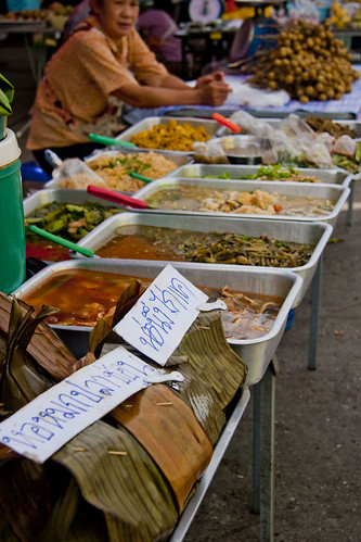 Chiang Rai Market - Curries