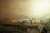 Fighter (Racerx031) Tags: art film superia paintings f100 canvas oil pensacola photosofart navalairmuseum