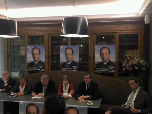 Les élus socialistes fêtent les 30 ans de la décentralisation