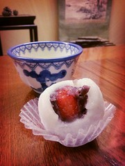 It's strawberry season in Japan. Had this for dessert :D #japanfury (Melody Fury) Tags: strawberry mochi diafuku flickrandroidapp:filter=rome