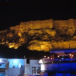 "Meherangarh Fort at Night <a style=""margin-left:10px; font-size:0.8em;"" href=""http://www.flickr.com/photos/14315427@N00/6816013512/"" target=""_blank"">@flickr</a>"