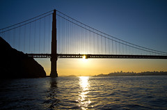 GGB Silhouette (LifeLover4) Tags: sanfrancisco california bridge usa skyline sunrise canon dawn bay boat fishing cityscape goldengate boating getty marinheadlands circularpolarizer kirbycove ggnra ggb 550d efs1755mmf28isusm t2i parkpic lifelover4 stickneydesign