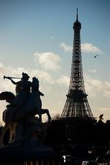 Tour Eiffel from Place de la Concorde, France (t.yukishita) Tags: paris france de la tour place eiffel concorde     afsdxvrzoomnikkor18200mmf3556gifed