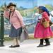 Una simpatica coppietta di vecchiette in Huaráz