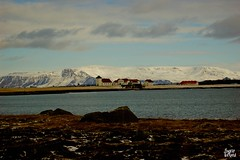 Bessastaðir in Iceland.The presidents home