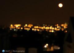 Evening lights (Otd 7 // Photography) Tags: light luz night lights noche nacht bokeh lumire noite nuit notte lumires