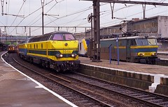 NMBS 5504+5515 & 1606 Lige Guillemins (Davy Beumer) Tags: nmbs l36 l42 hle16 l43 hld55