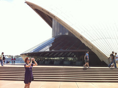 Jessica at the opera house