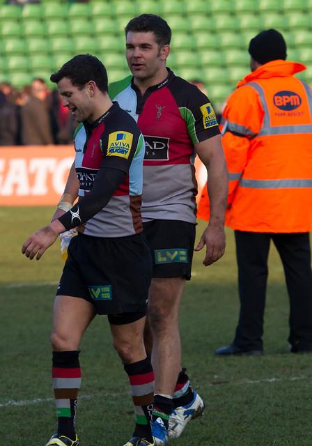 Karl Dickson and Nick Easter