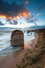 Twelve apostles (David Rochas) Tags: ocean road sunset naturaleza art sol nature del de landscape photography soleil photo nikon do photographie natureza great natur fine coucher australia natura paisagem filter 12  paysage landschaft  por f28  paesaggio twelve apostles paisage posta 1735mm cokin  douze   121s d700 apotres flickrstruereflection2