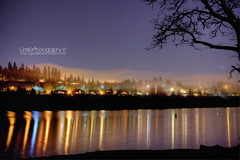 View from Lacamas Lake (ChrisG Photography) Tags: from lake 35mm canon landscape eos long exposure cityscape view map f14 l 5d tone mkii camas lacamas 35l