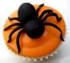 Halloween Spider Cup Cake