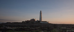 St Mary's Light house (Laura donothey) Tags: lighthouse sunrise photography northumberland february stmarys whitleybay