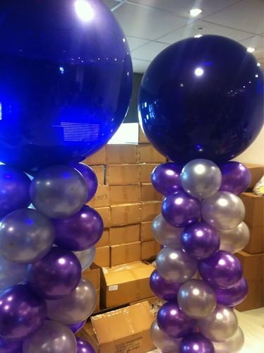 Ballonpilaar Breed Rond Opening Bengel Kinderschoenen Barendrecht