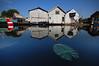 Boatyard on Nottingham canal (blinkingidiot) Tags: nottingham reflection canal lillypad boatyard ringexcellence dblringexcellence tplringexcellence eltringexcellence