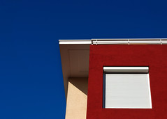 saturation (Thomas Leth-Olsen) Tags: blue red architecture colorful colours geometry antibes locations colorfulness