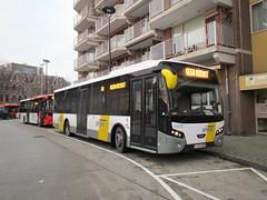 DeLijn bus 111075 Tilburg NS (Arthur-A) Tags: bus netherlands buses belgium belgique belgie nederland autobus tilburg brabant noordbrabant daf delijn bussen vdl citea
