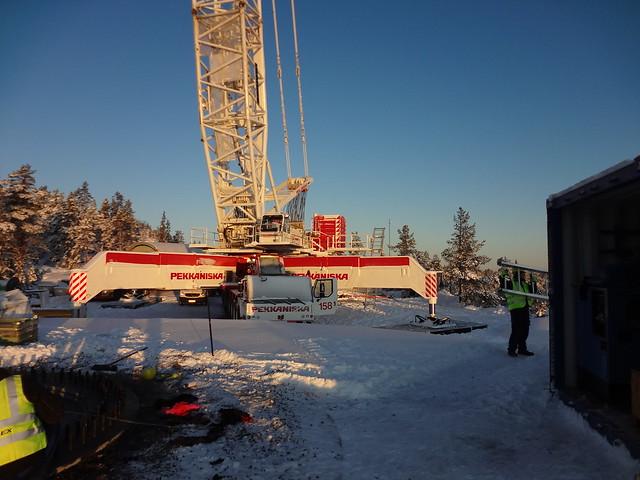 Nordex wind turbines Vårdkasen