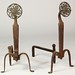 258. Cahill Iron and Brass Andirons