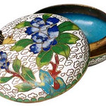 "<b>Round Covered Box</b><br/> Unknown (Chinese) Round Covered Box Cloisonne, n.d. LFAC #1994:12:31<a href=""http://farm8.static.flickr.com/7068/6916692445_e041471f69_o.jpg"" title=""High res"">∝</a>"