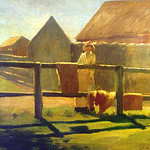 "<b>Landscape</b><br/> Charles Elmer Langley (-) ""Landscape"" Oil, n.d. LFAC #063<a href=""http://farm8.static.flickr.com/7068/6926101495_b2917c25a1_o.jpg"" title=""High res"">∝</a>"