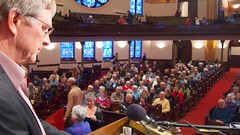 Rick Steves at Westminster Town Hall Forum