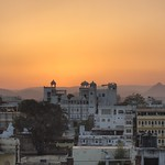 "Sunset in Udaipur <a style=""margin-left:10px; font-size:0.8em;"" href=""http://www.flickr.com/photos/14315427@N00/6934389795/"" target=""_blank"">@flickr</a>"