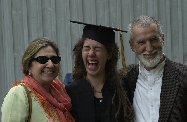 Grad with Parents