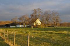 Ferme alsacienne / Alsatian farmhouse (patoche21) Tags: france rural landscape countryside twilight nikon dusk farm alsace paysage crpuscule campagne 67 ferme d300 basrhin 18200mm ruralit altorf nikonpassion nikonflickraward capturenx2 flickrtravelaward patrickbouchenard
