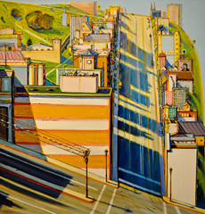 Wayne Theibaud - San Francisco West Side Ridge, 1992 at American Art Museum Washington DC (mbell1975) Tags: west art museum painting dc washington san francisco gallery museu side wayne fine arts musée musee m ridge american 1992 museo muzeum müze theibaud museumuseum