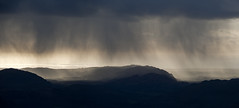 Rain over Muncaster Fell (Nick Landells) Tags: cloud rain shower lakedistrict cumbria eskdale muncasterfell