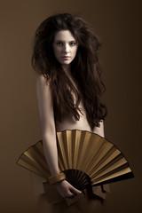 Paperdoll (Ecofashion) (Ines Aullo) Tags: beauty fashion hair paper creative imagination paperdoll dyi ecofashion jorgemario inesaullo miguelangelgomez