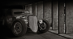 """In the shadows"" (Neil Banich Photography) Tags: cars car automobile artistic custom artcar hotrods ratrod autoart carscool picturescool neilbanichphotograhy imagescool"