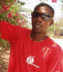 (PercyGermany) Tags: red sports sport leipzig ali mwalimu percygermany leipzigwiederitzsch medandsports kenyafeb2011 medandsportsinafrica medandsportsleipzig