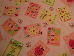 Decolello cards (SFZpaeonia) Tags: apple cards japanese sewing fabric quilting decole decolello