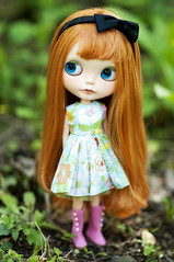 Brier Rose got a new bod (libbalu) Tags: doll plastic blythe custom takara dlg rbl brierrose chaoskatencosmos