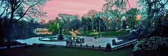Bethesda Fountain (Strykapose) Tags: nyc film centralpark bethesdafountain ektar100 strykapose nikkorsw90mmf45 617panorama