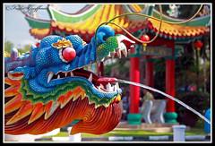 Colorblind (~Frida*~) Tags: fountain temple dragon chinese malaysia pavilion kuala lumpur budhist thou thean